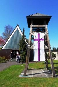 Glockenturm der Heilig-Geist-KircheGlockenturm der Heilig-Geist-Kirche