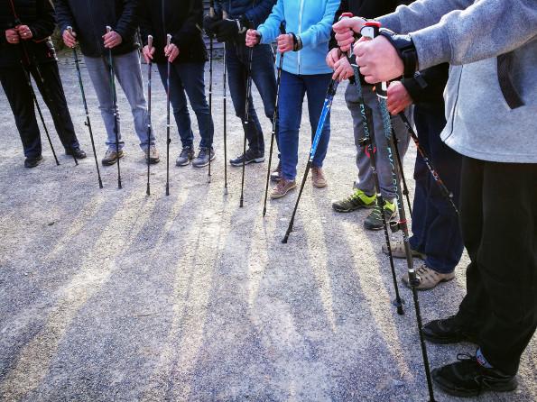 Nordic Walking mit dem Hematverein Rhade